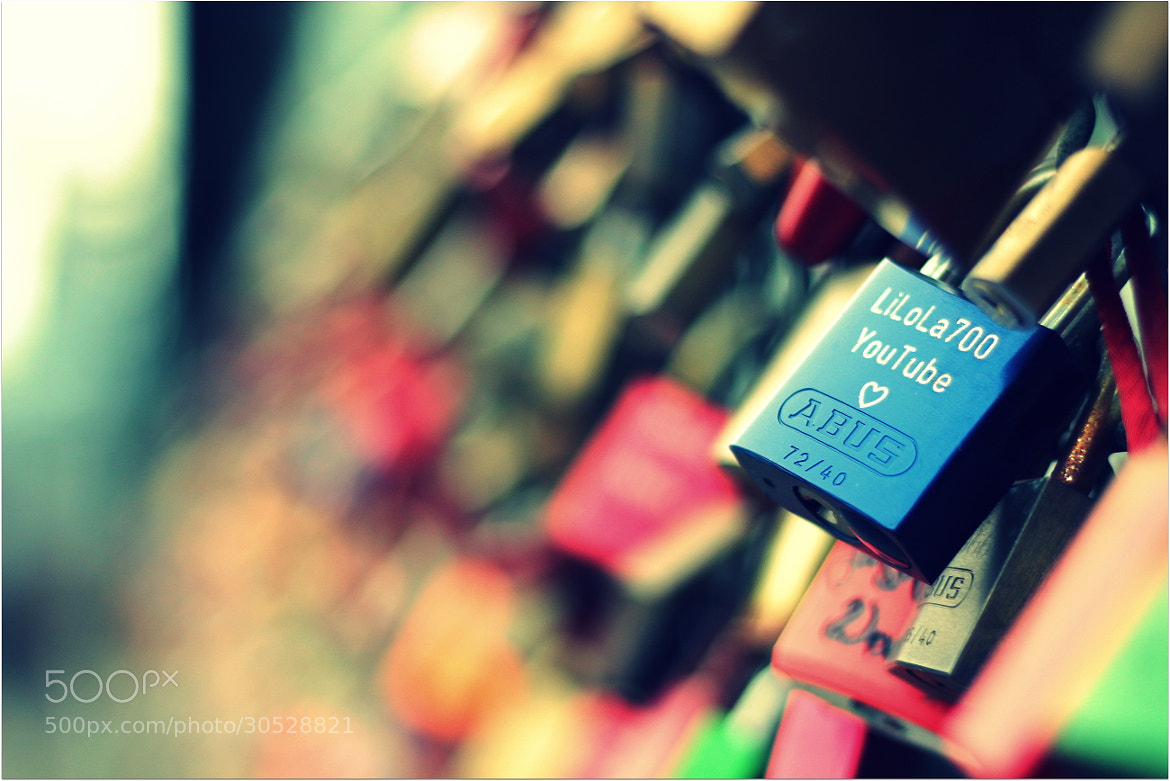Photograph Lock of love by Sandeep Malhotra on 500px