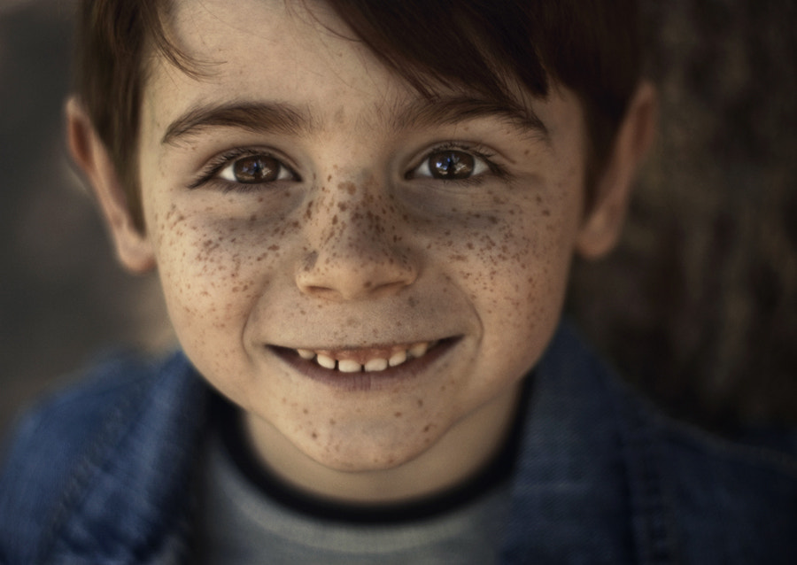 Photograph freckles :) by Iliyana Gonzalès on 500px