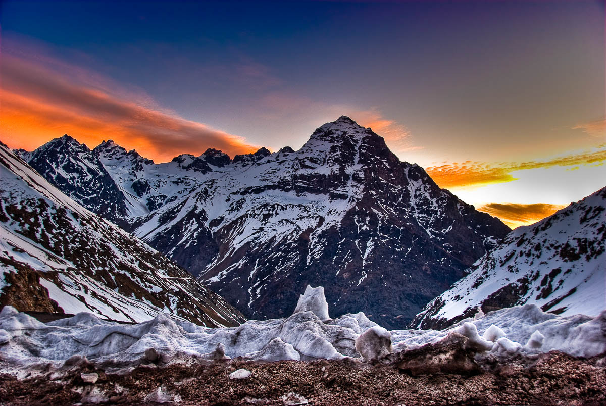 Photograph Sunset in Los Andes by Juan Carlos Ruiz on 500px