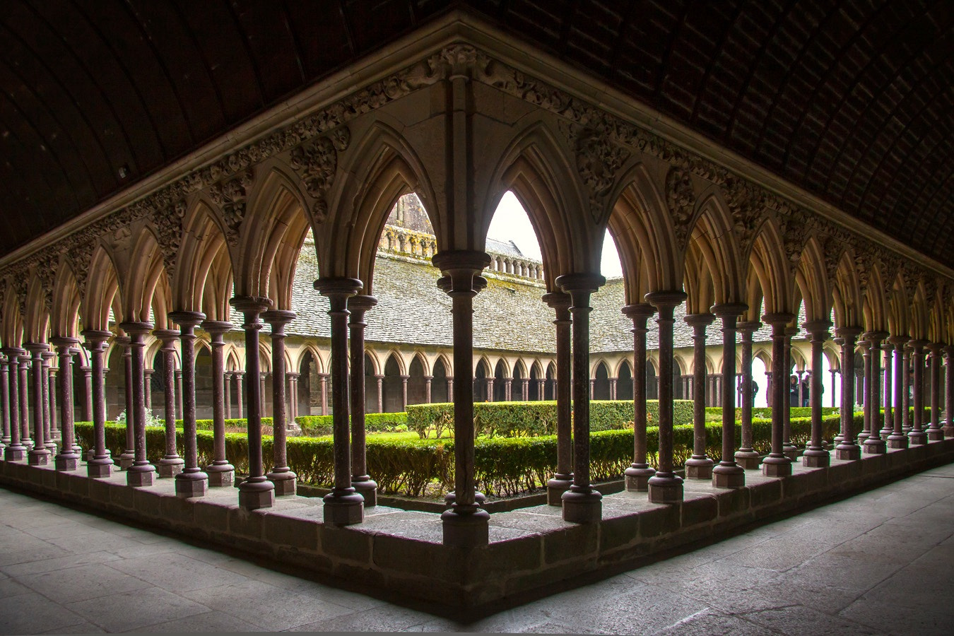 Photograph Cloisters, Mt. St. Michel by martin gatti on 500px