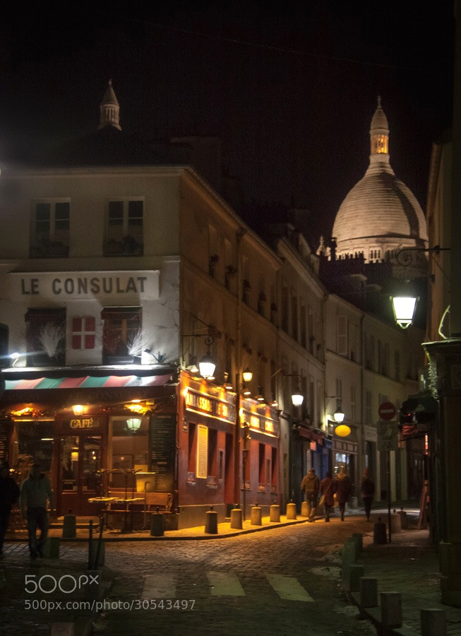 Photograph Montmartre by martin gatti on 500px