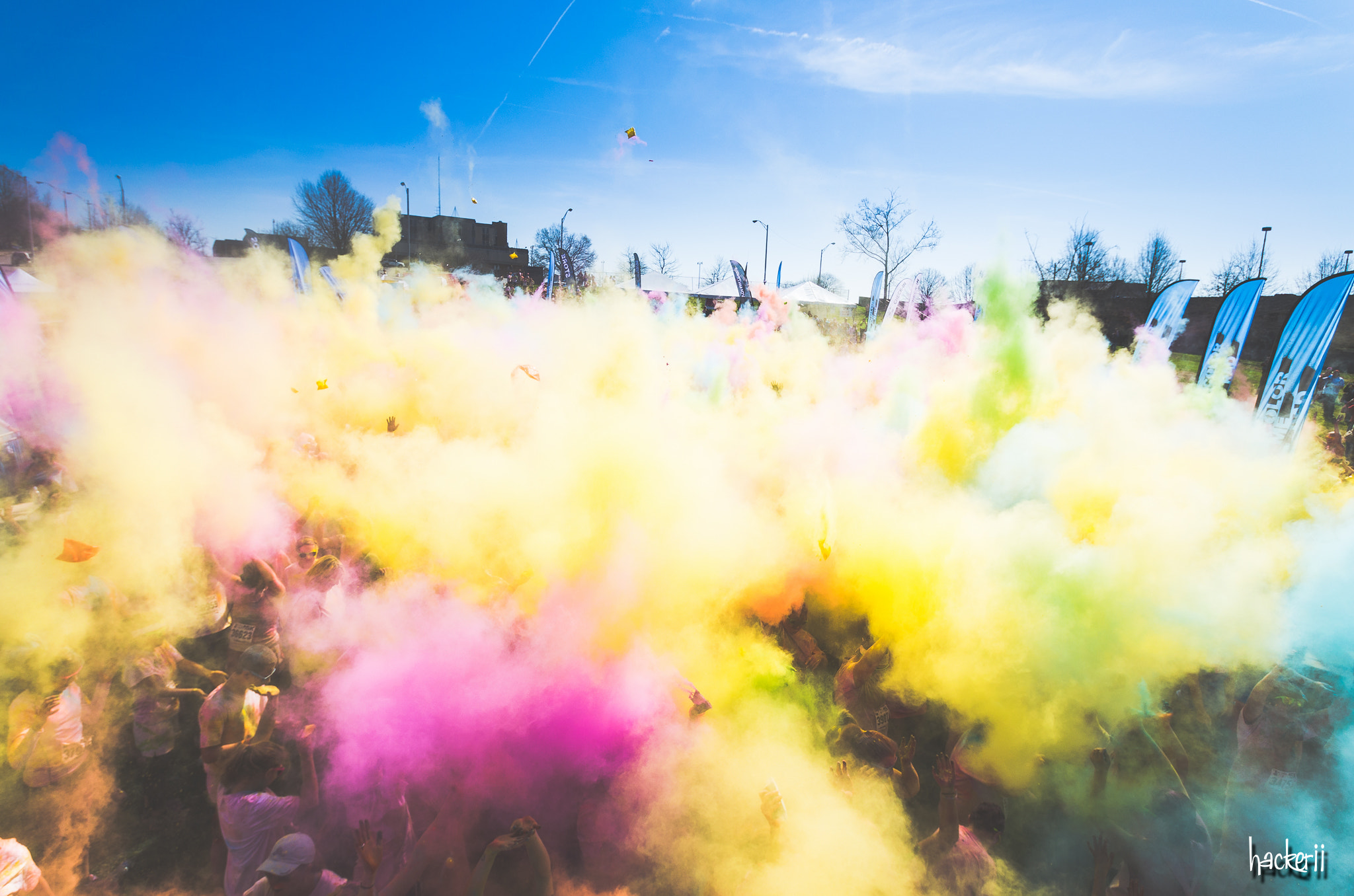 Photograph color me rad 5k knoxville 2013 by Joe Hacker on 500px