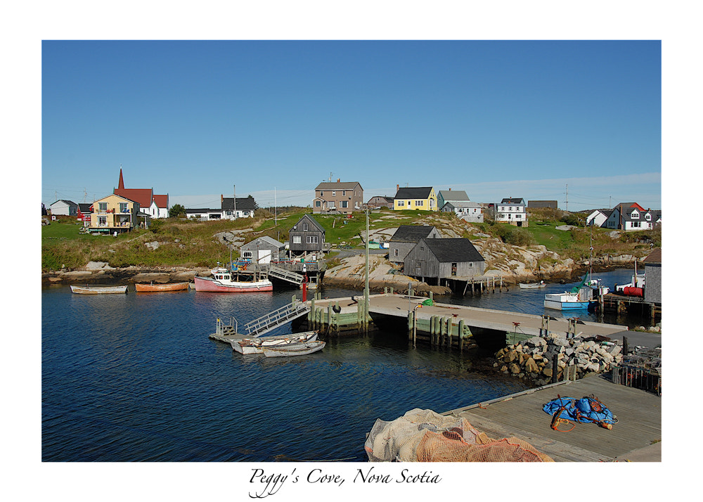 Photograph Peggy's Cove, Nova Scotia by Don McCabe on 500px