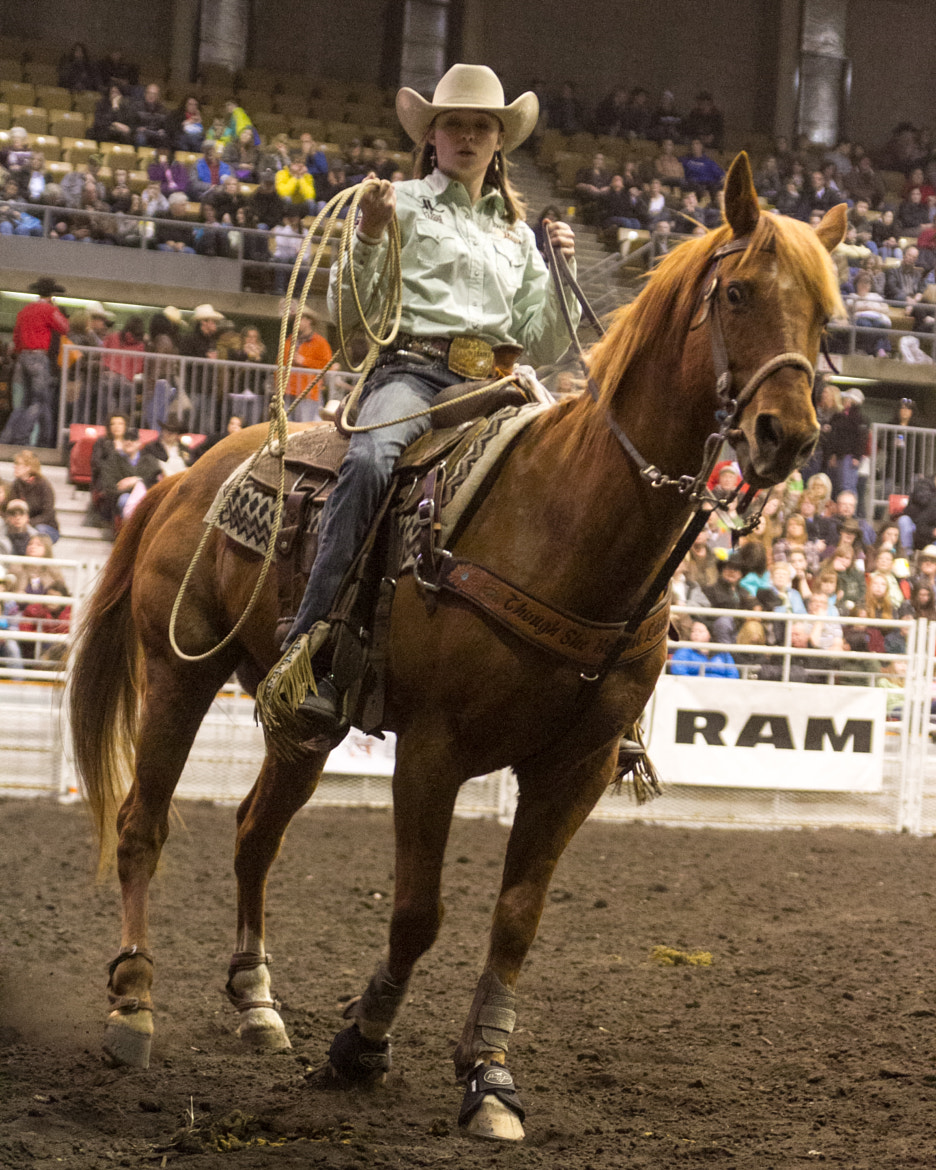 Photograph Rodeo Cowgirl and her horse by Ron Palmer on 500px