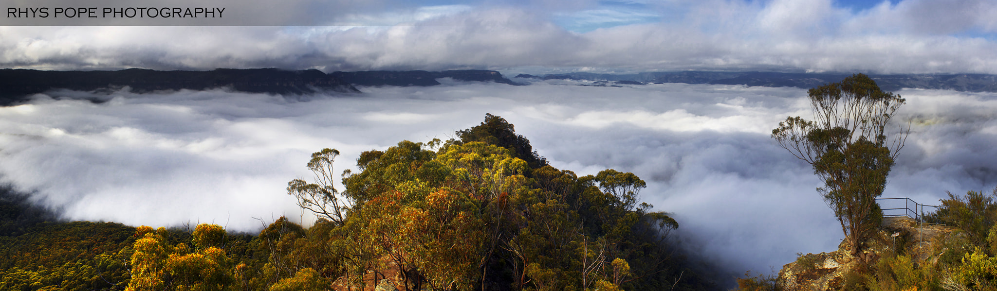 Photograph Lake Of Cloud || BLUE MOUNTAINS by Rhys Pope on 500px