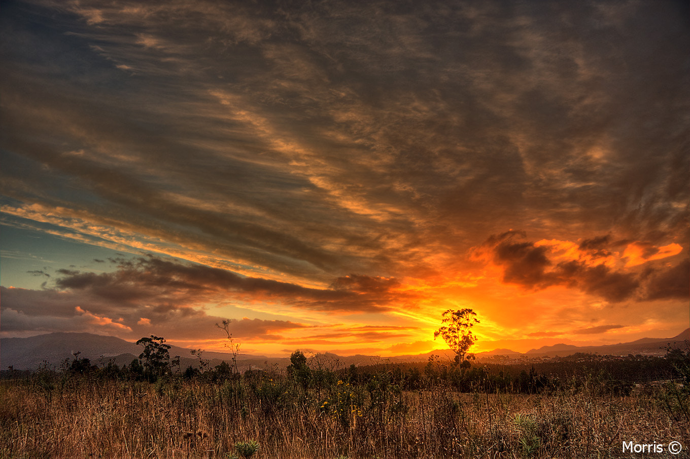 Photograph Elgin Sunset by Dave Morris on 500px