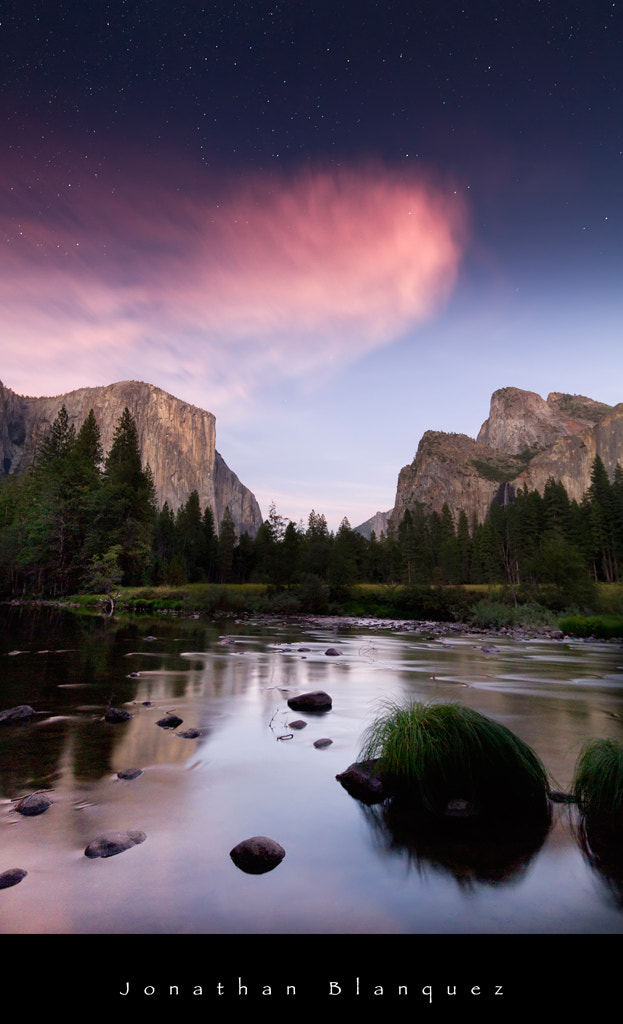 Photograph Night in the Yosemite Valley by Jonathan Blanquez on 500px