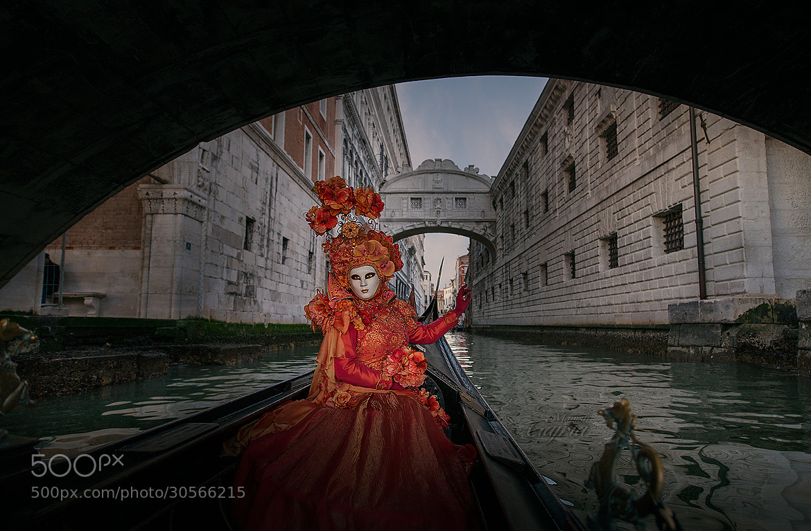 Photograph Sophie on a Gondola by Manish Gajria on 500px