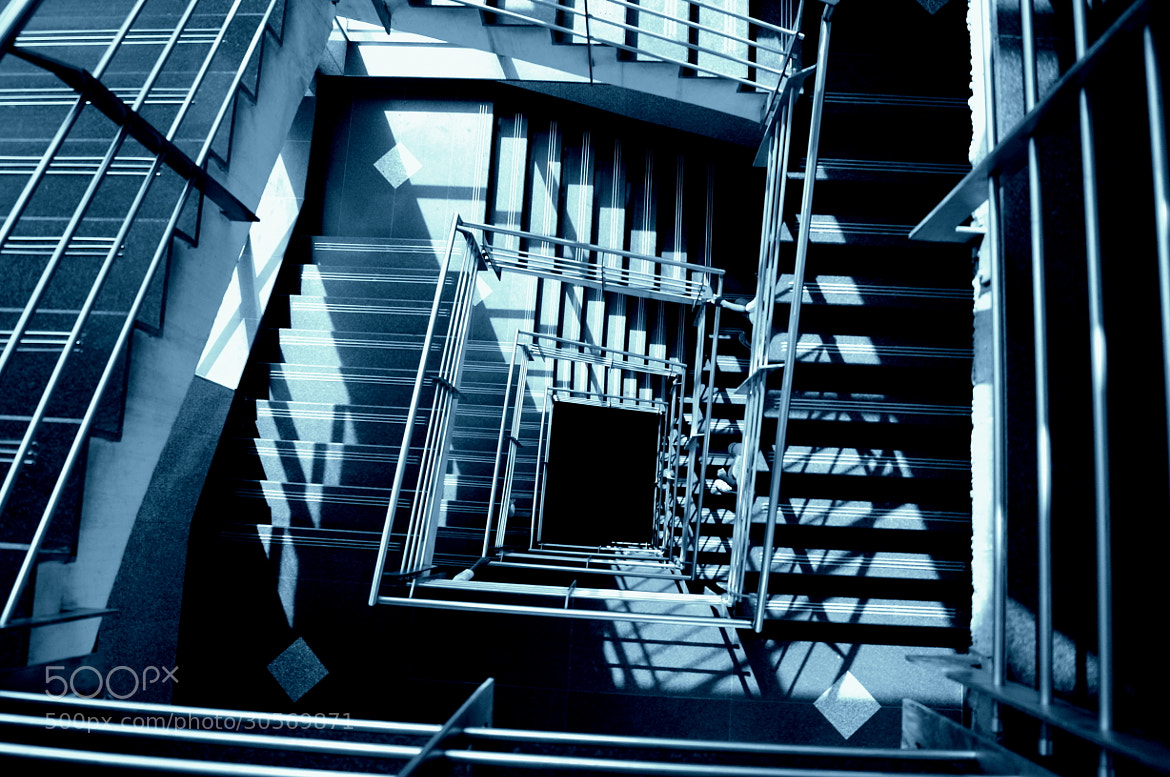 Photograph Stairing down by Rahul Tripathi on 500px