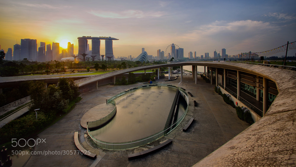 Photograph Concrete Courtyard by WK Cheoh on 500px