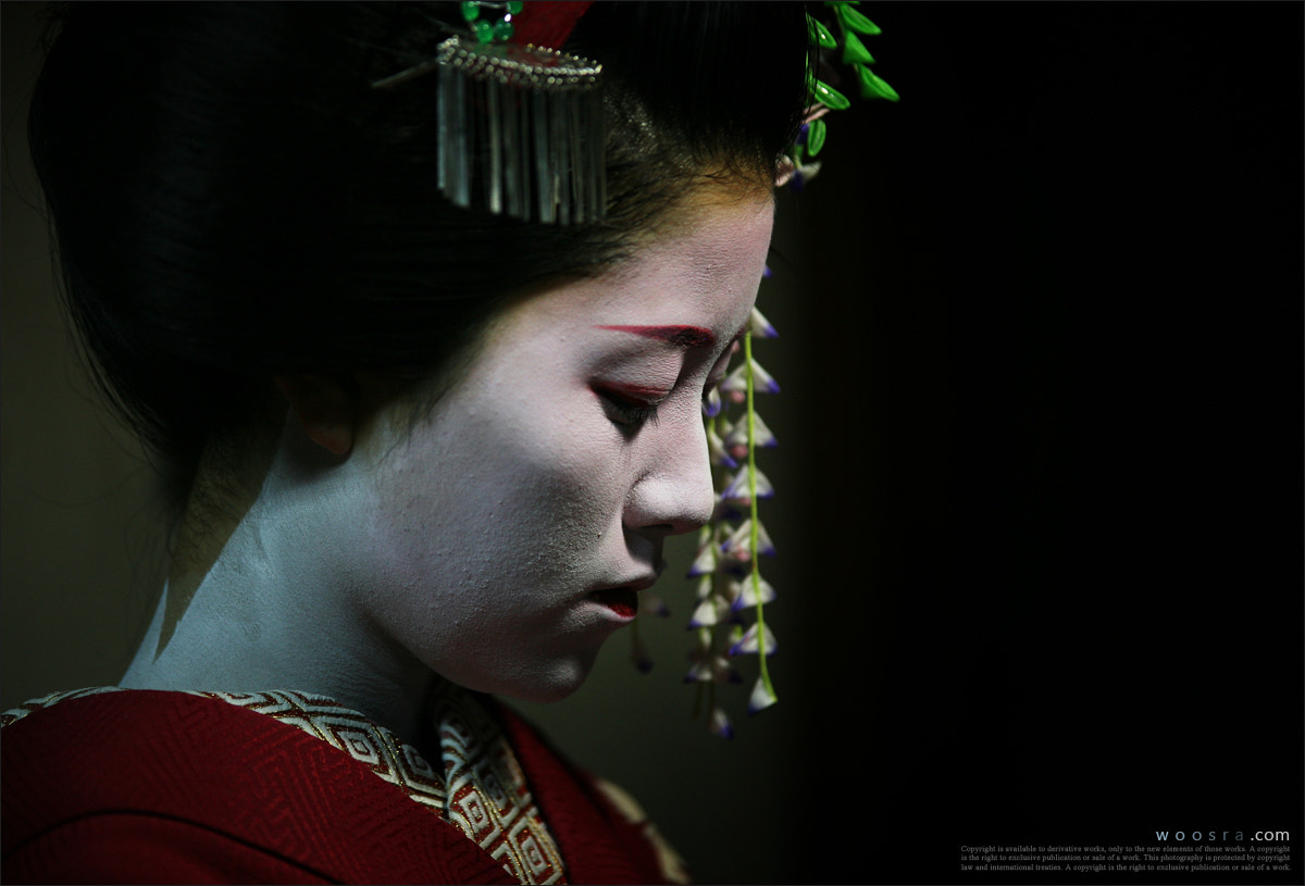 Photograph Geisha(舞子) in Kyoto, Japan by Woosra Kim on 500px