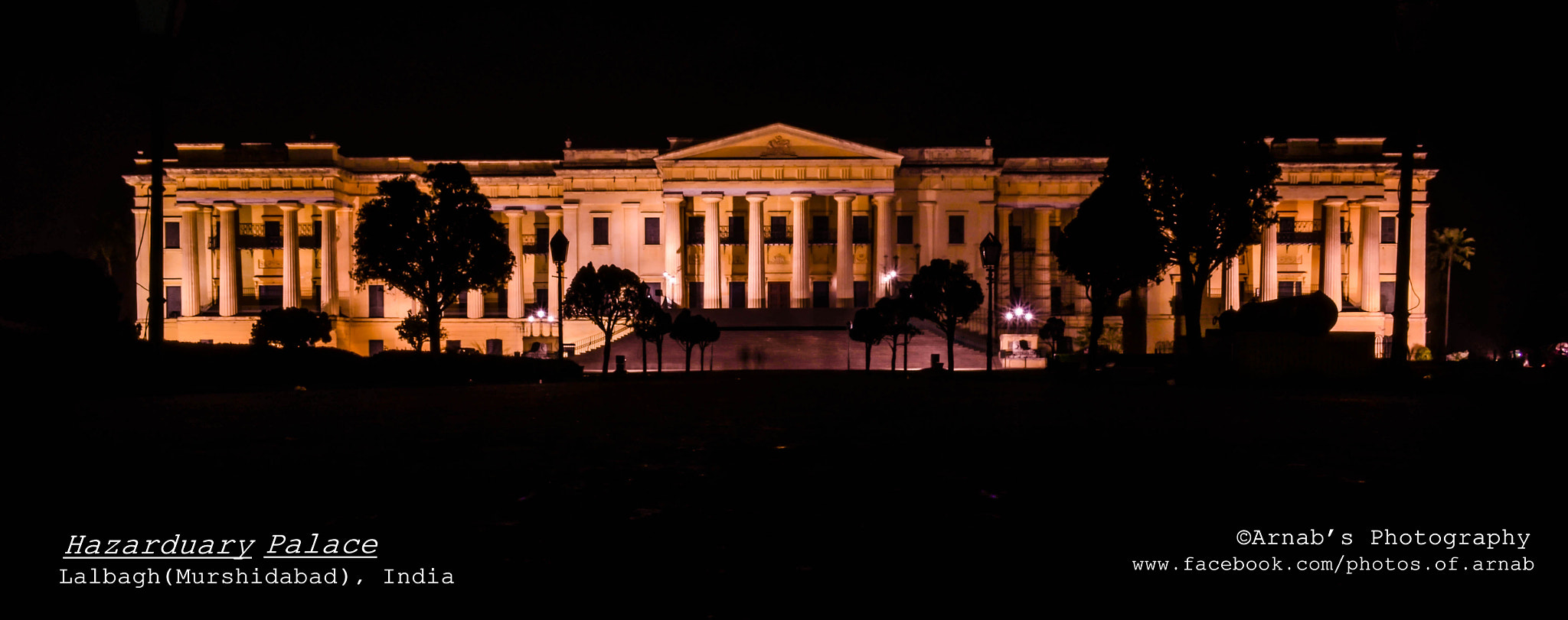 Photograph Hazarduary Palace by Arnab Ghosh on 500px