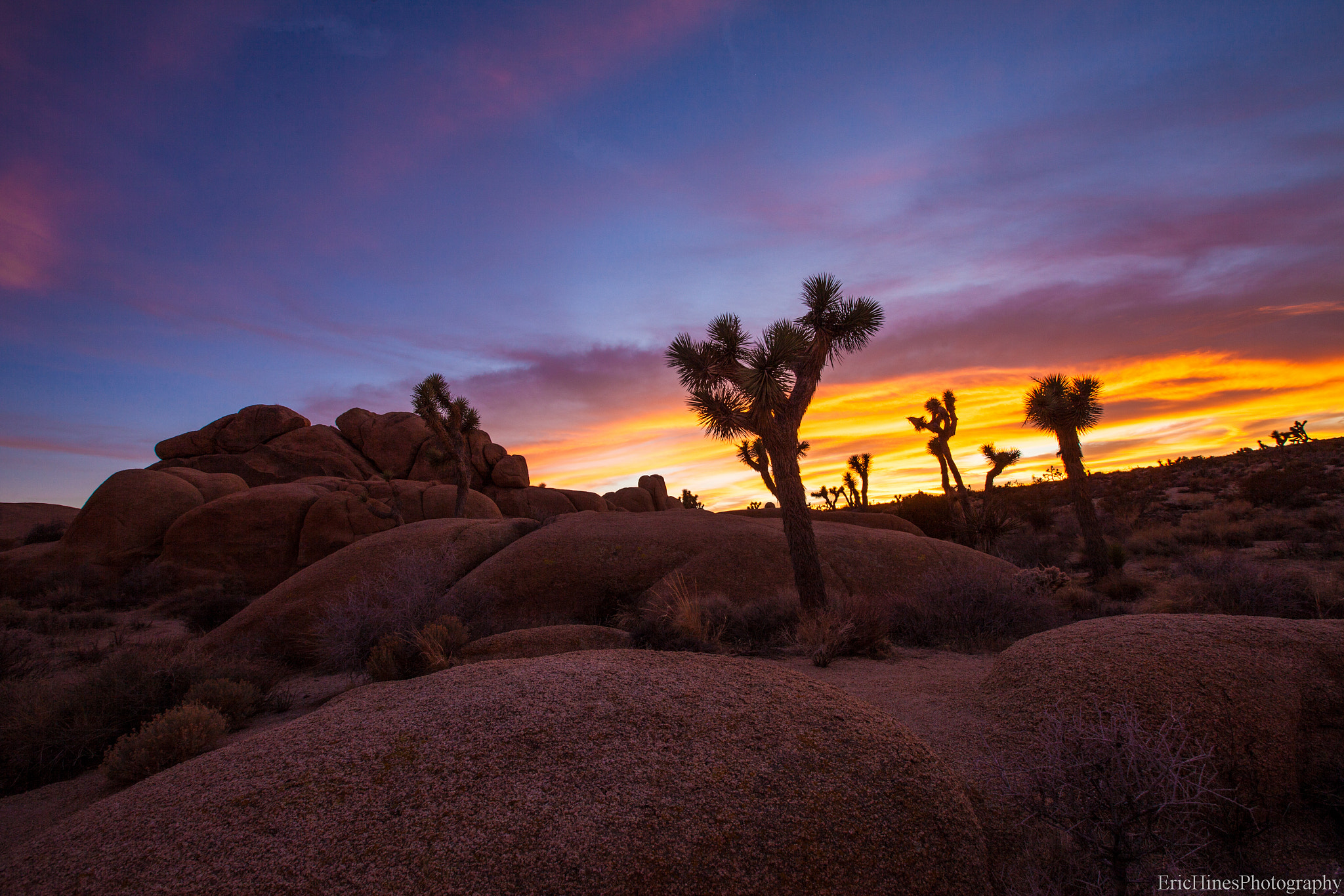 Photograph Sunset at Jumbo Rocks by Eric Hines on 500px