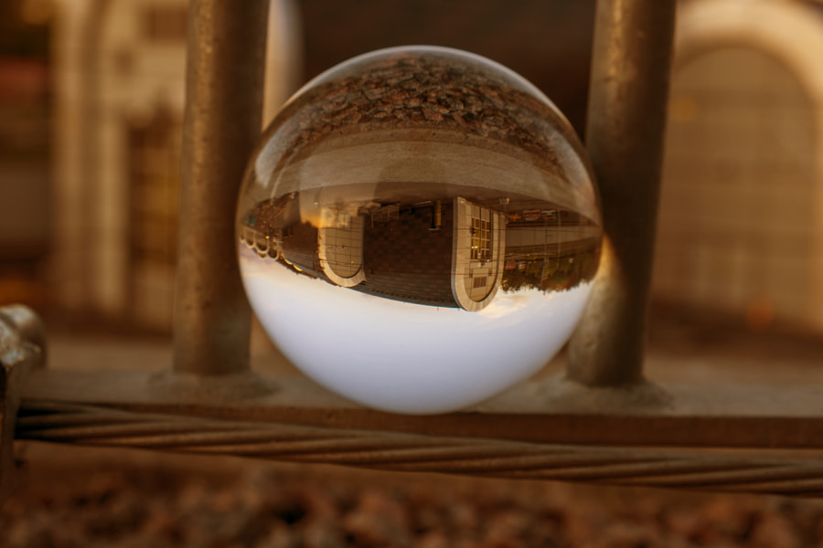 Lensball reflections by Stefan Schnöpf on 500px.com