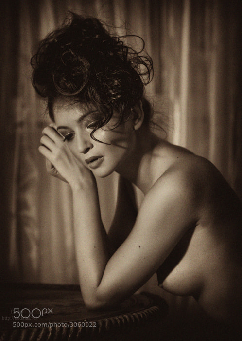 Photograph Glamour portrait, stylization by Vladimir Dedal Larionov on 500px
