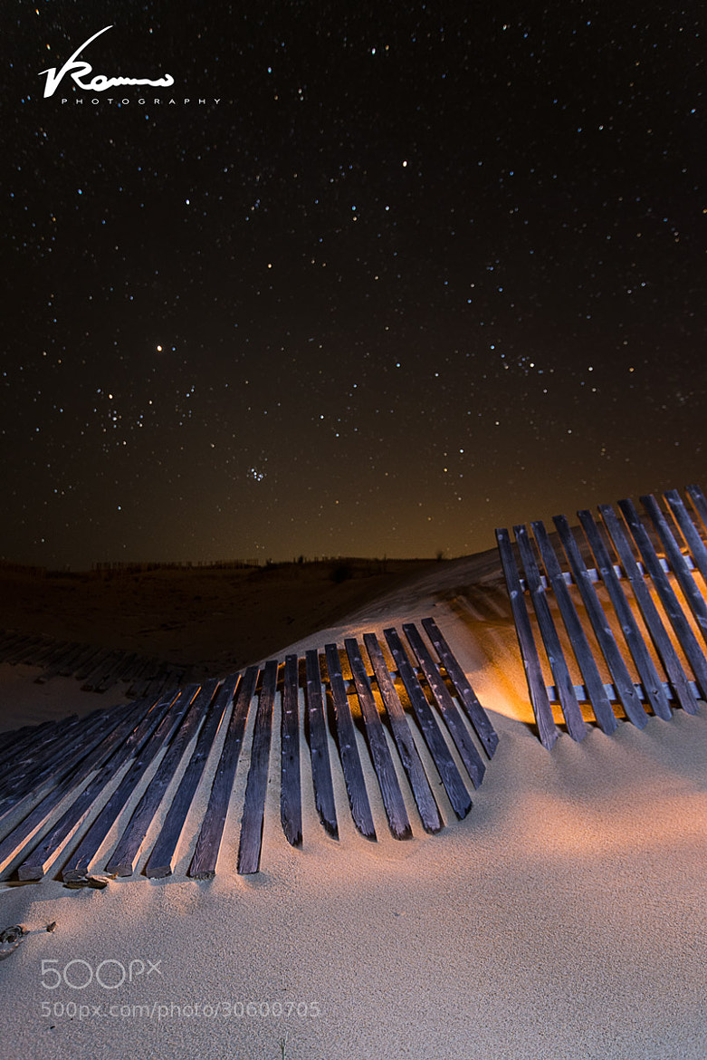 Photograph Fences On Fire by Vicente Romero on 500px