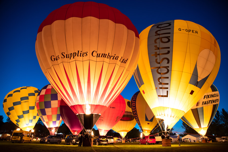 The hot air balloons of Telford   by Allan Oi on 500px.com