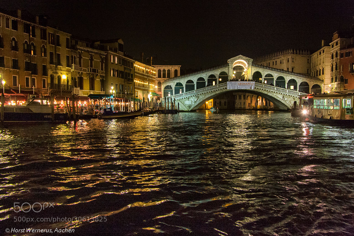 Photograph Night in Venice by Horst Wernerus on 500px