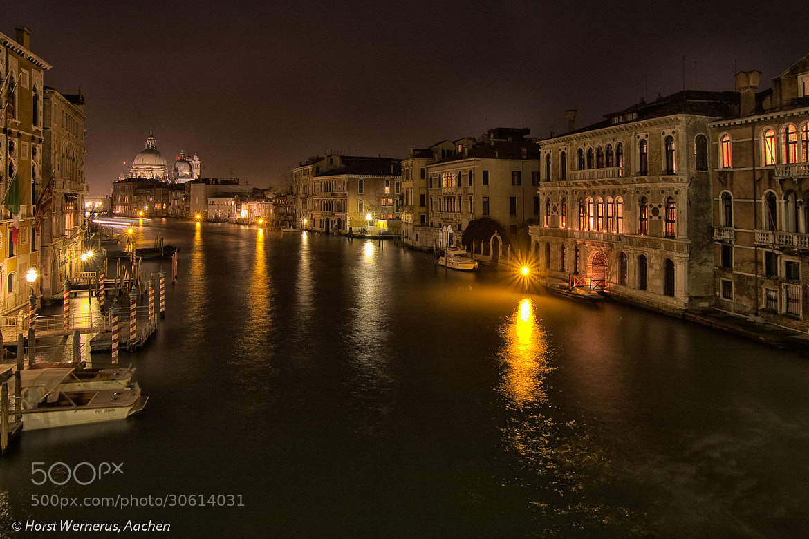 Photograph Night in Venice II by Horst Wernerus on 500px