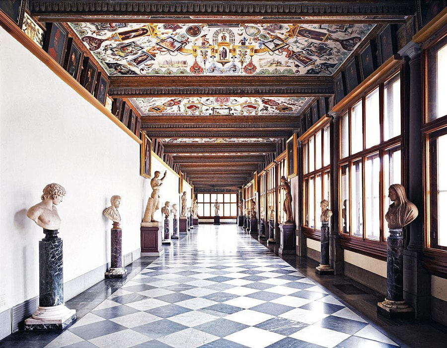 Uffizi Gallery by Kaiser Hoffthom on 500px.com