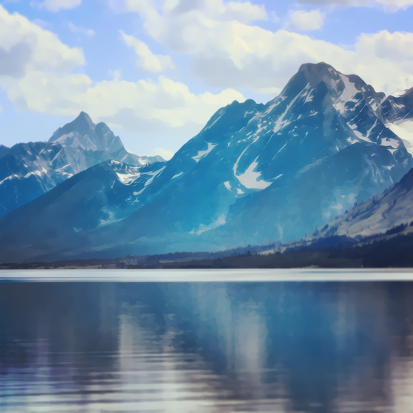 Photograph The Grand Tetons by Darcy Wheeler on 500px