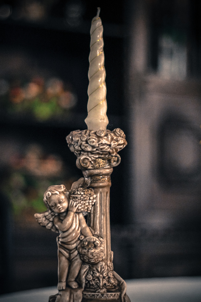 Photograph Angel Statue Candle by Paulo Henrique Capuzzo on 500px