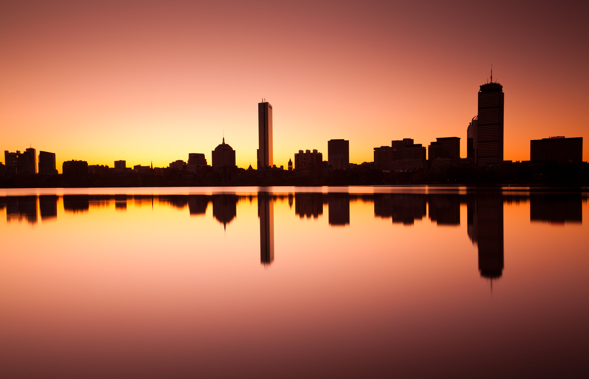 Photograph Boston at sunrise by Rich Williams on 500px