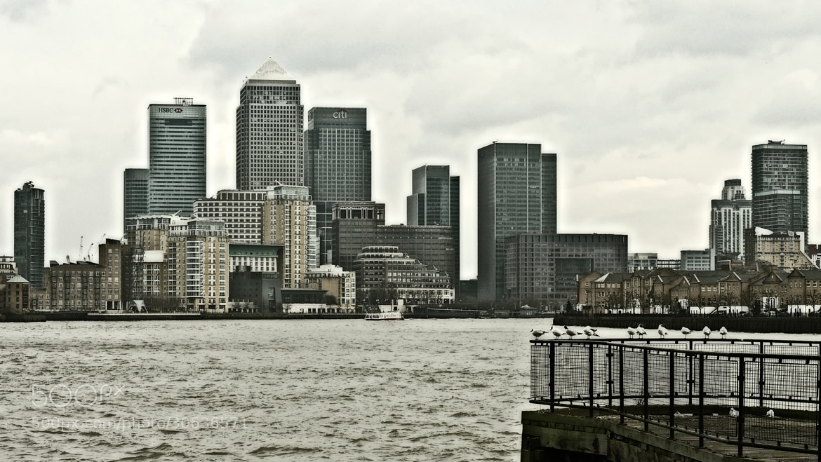 Photograph Birds view of Canary Wharf by John Purchase on 500px