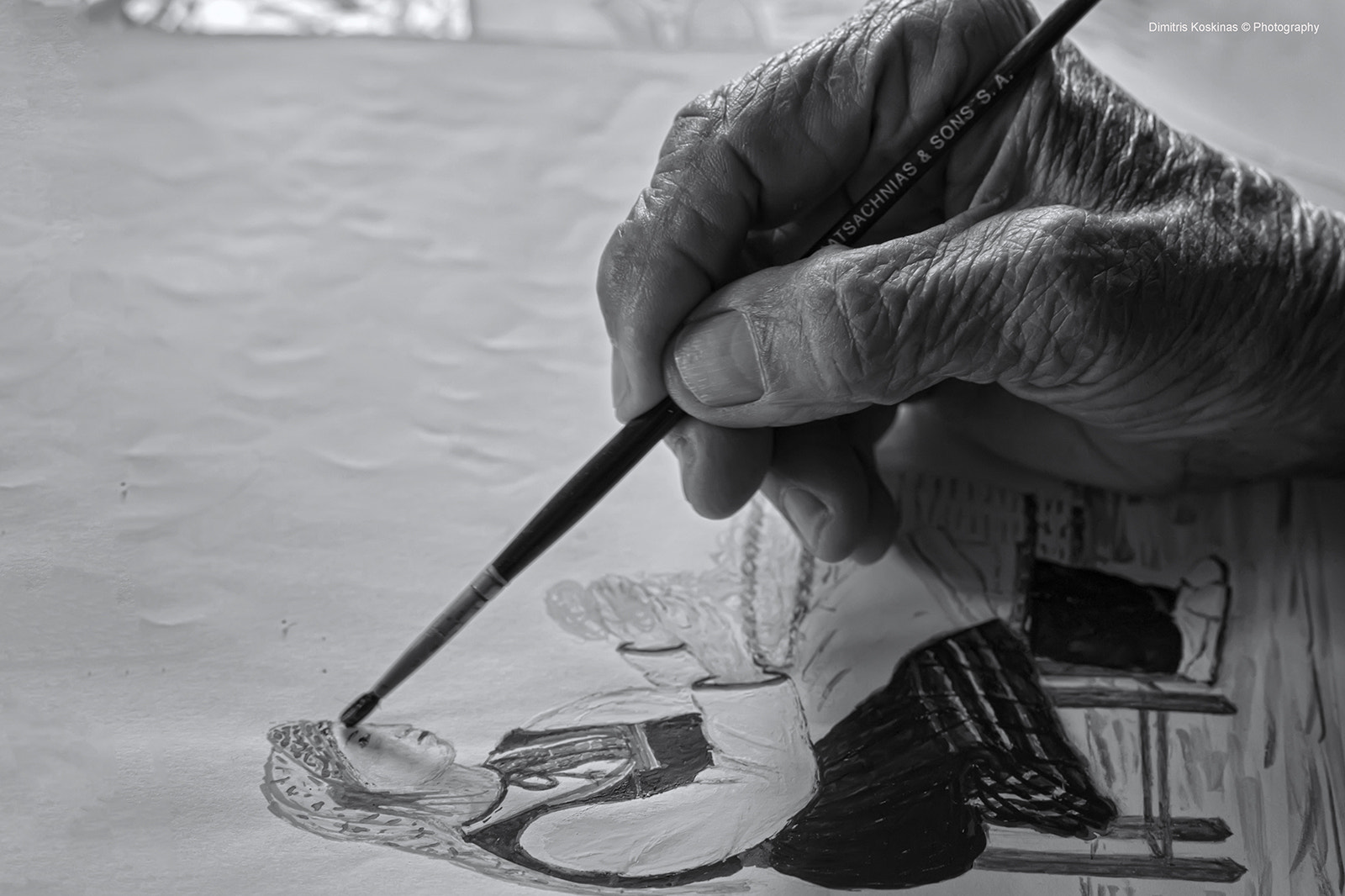 Photograph Τhe Painter by Dimitris Koskinas on 500px