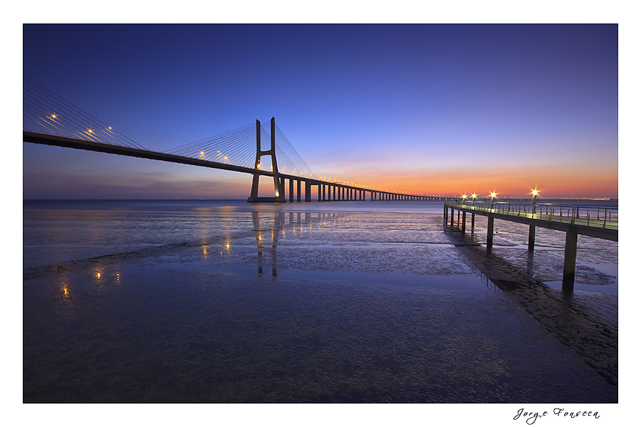 Photograph Ponte Vasco Gama by Jorge Fonseca on 500px