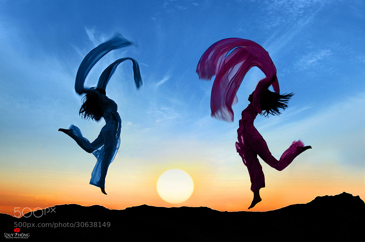 Photograph THE DANCE OF DAWN by Duy Thong Vu on 500px