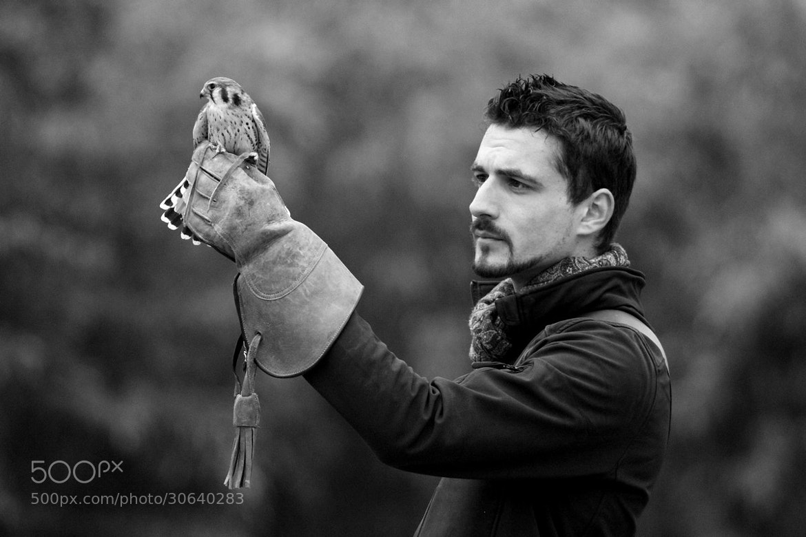 Photograph The Falconer by Delphine Devos on 500px