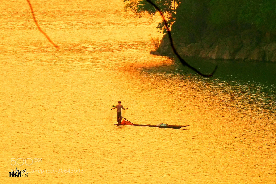 Photograph Golden Afternoon at BaBe Lake by Khoi Tran Duc on 500px