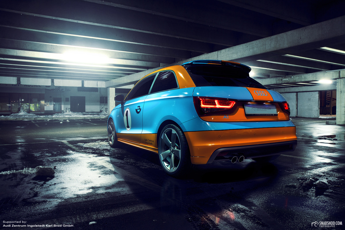 Photograph Audi A1 - Gulf Design by Daniel Böswald on 500px