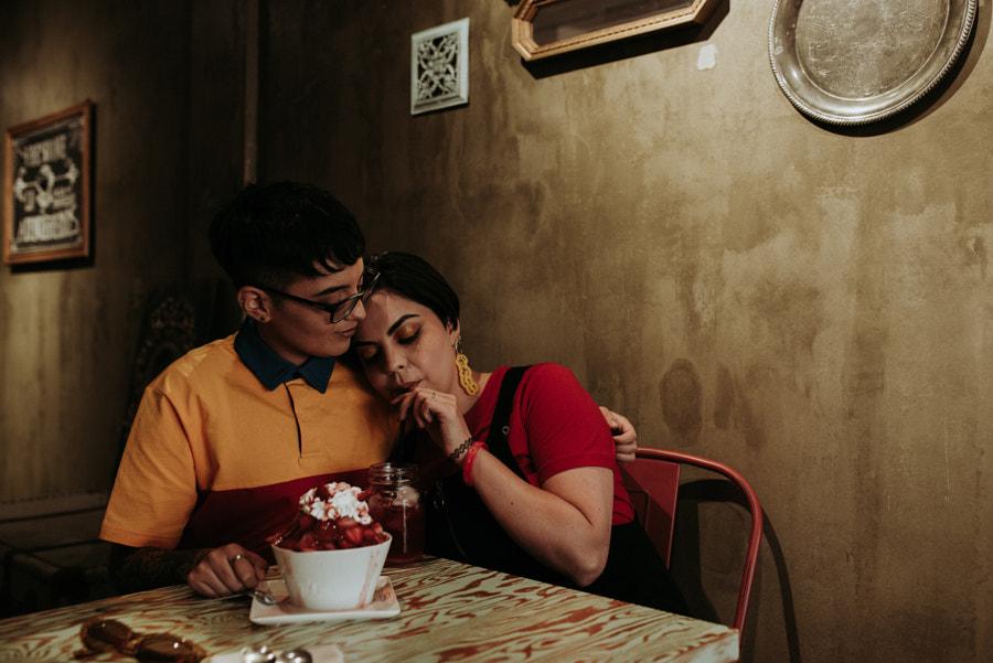 Nicolas Fuentes的Andy y Madeleine在500px.com上