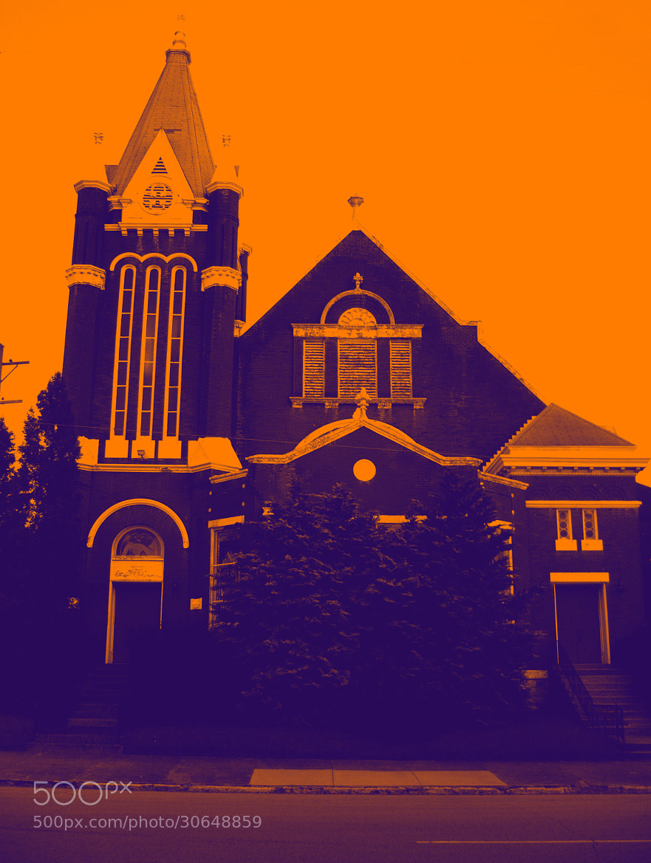 Photograph Breckinridge Church by Benjamin Burch on 500px