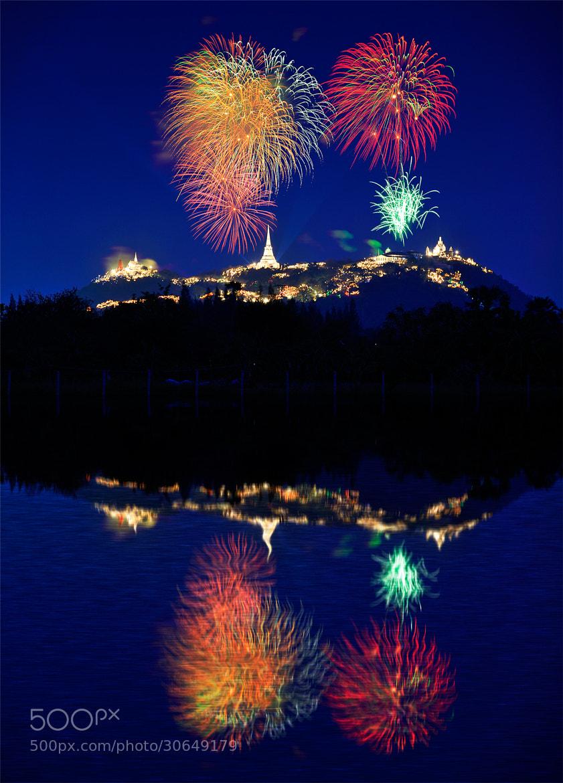 Photograph Phra Nakhon Khiri Fireworks by Puchong Pannoi on 500px