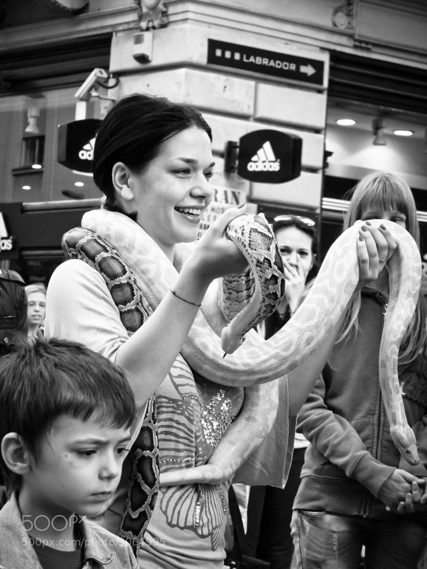Photograph Snake girl by Uros Krunic on 500px
