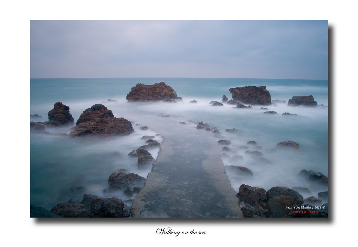 Photograph Walking on the sea by jean-yves martin on 500px