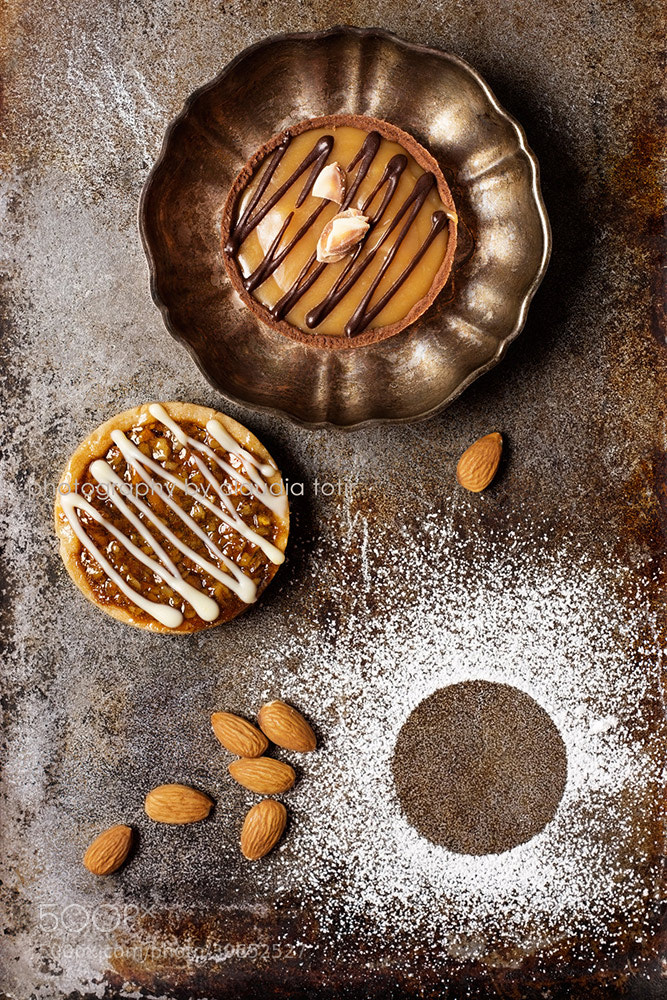 Photograph Chocolate and Caramel Tart by Claudia Totir on 500px