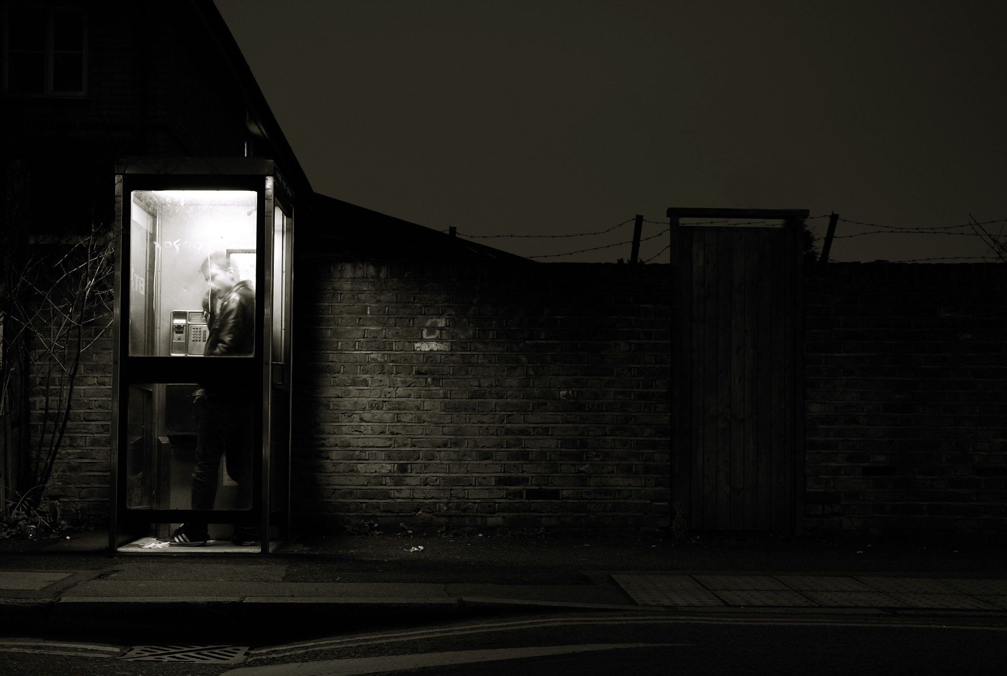 Photograph booth at night by M  on 500px