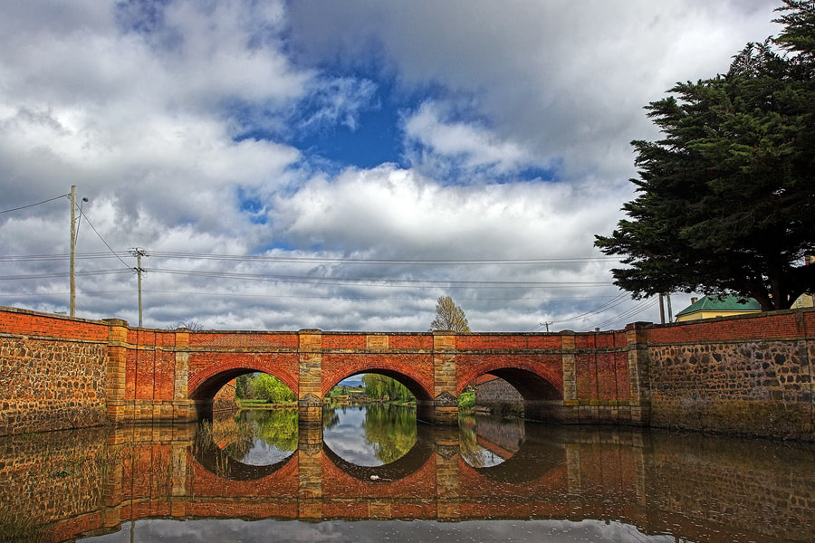 Photograph Red Bridge by Peter Daalder on 500px