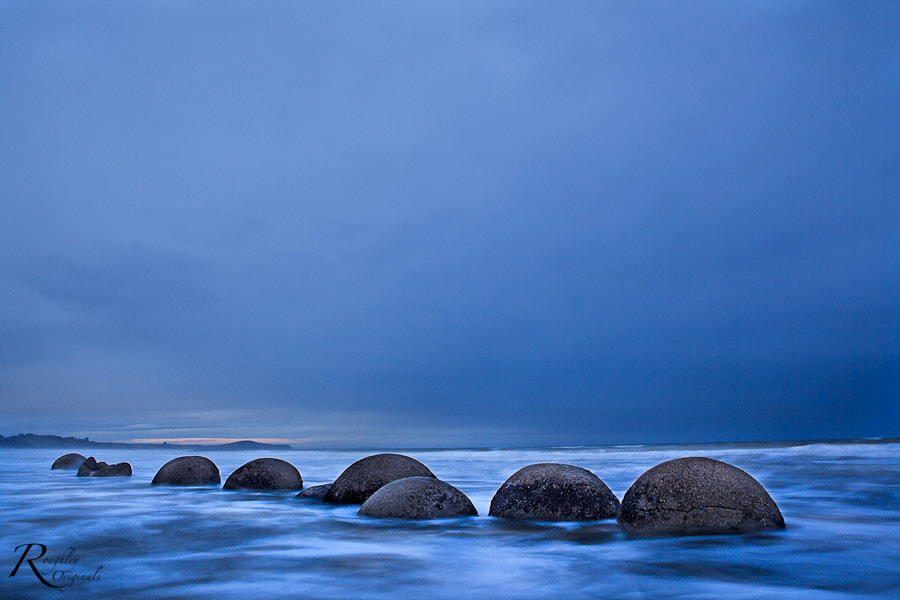 Photograph Moeraki Boulders by Roughley Originals on 500px