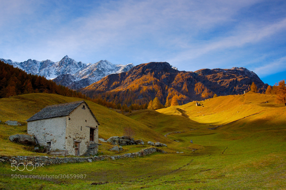 Photograph Simplon Dorf. Life is hard over 1600 by stefanocarda on 500px