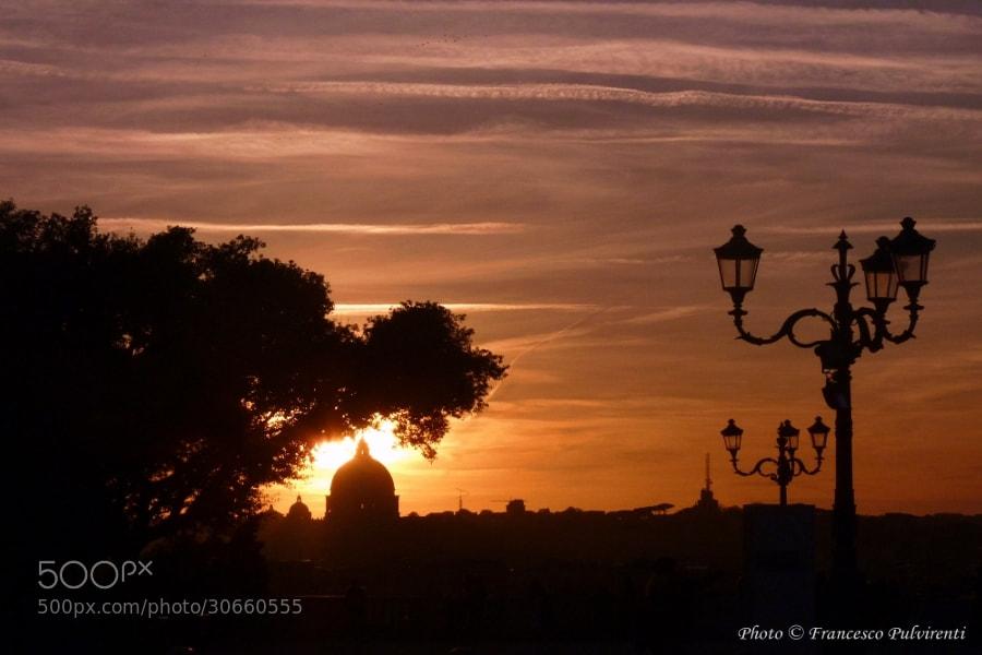 Photograph Terrazza del Pincio by Francesco Pulvirenti on 500px