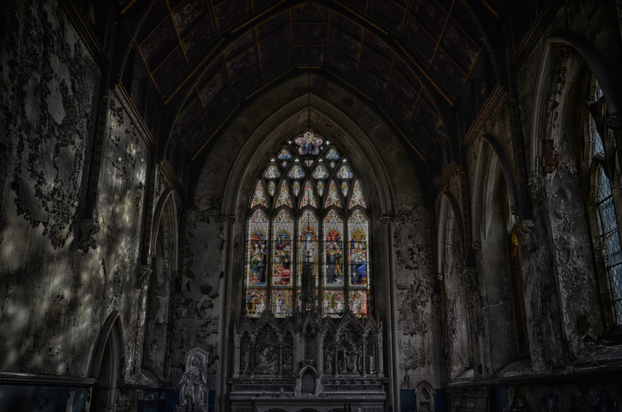 Photograph Chapel of Decay by MalekPhotography on 500px