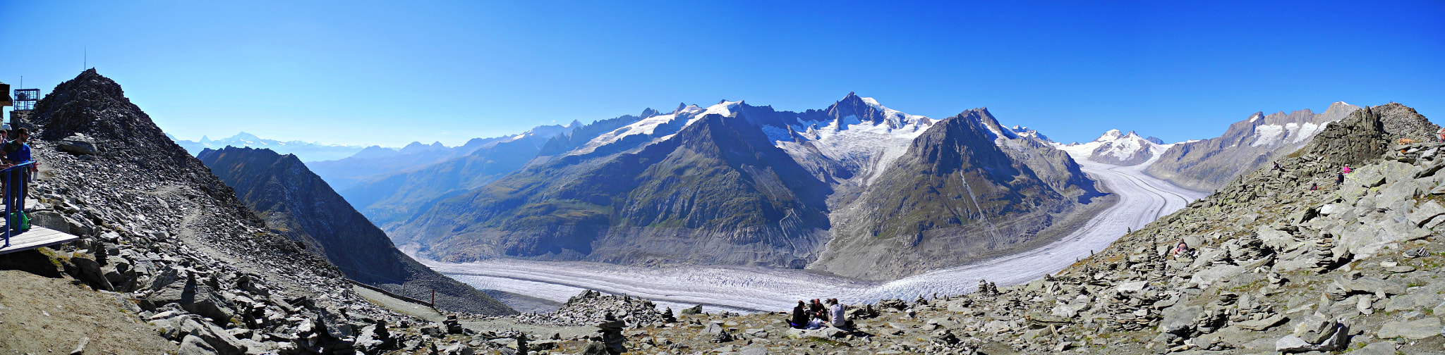 Photograph Panorama from Eggishorn by stefanocarda on 500px