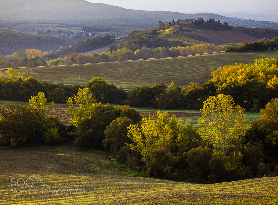 Photograph Tuscan Autumn Colors by Hans Kruse on 500px