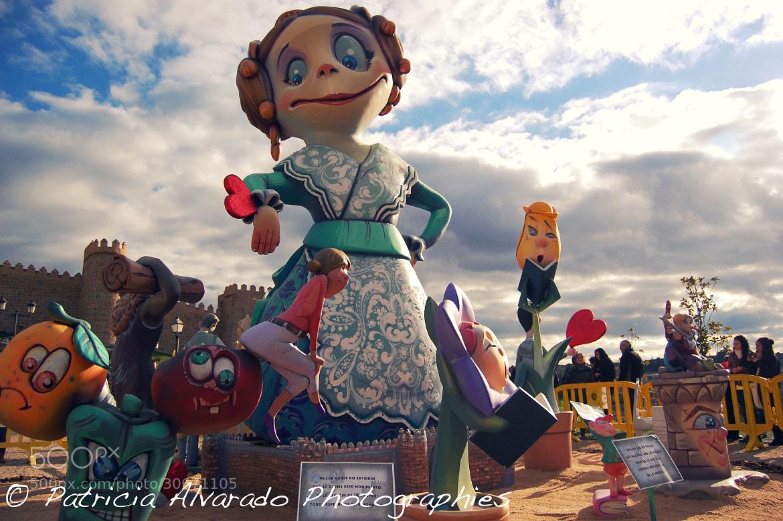 Photograph Falla de Carcaixent en Ávila by Patricia Alvarado on 500px