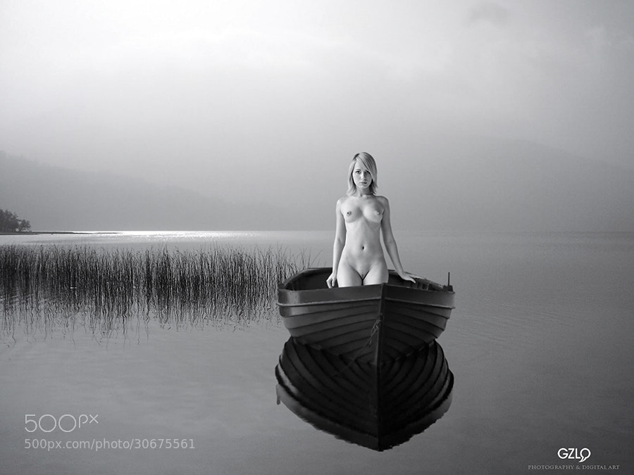 Photograph The GIRL LAKE by Gonzalo Villar on 500px